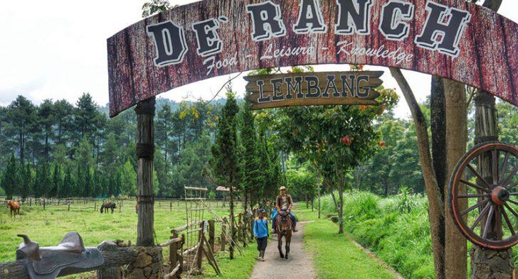 de Ranch Lembang : Fasilitas dan Harga Tiket Masuk